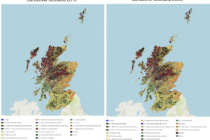 Scottish Landcover Maps 2019 & 2020